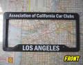 California Car Clubライセンスフレーム