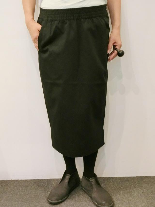BARBARA ALAN:コットンタイトスカート