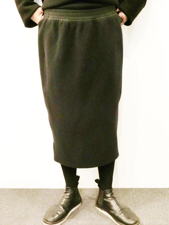 BARBARA ALAN:ウールタイトスカート