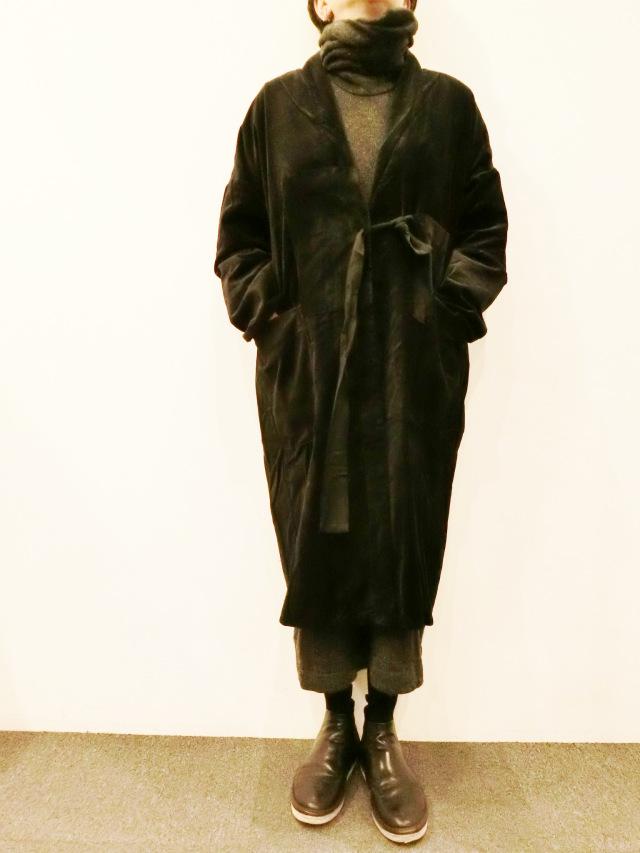 ELSA ESTURGIE:ポケットジャケットカーデ