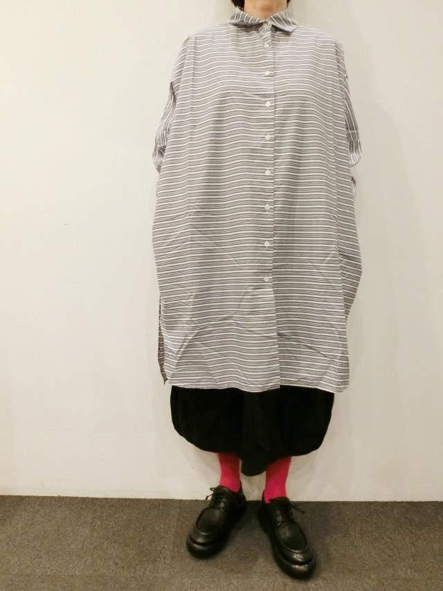 CASEY CASEY:ストライプシャツ