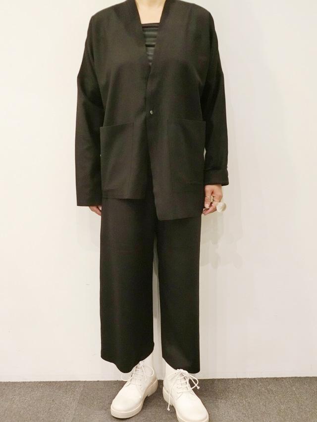 BARBARA ALAN:メルトンボンデッドジャケット