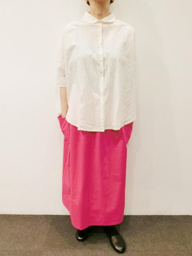 vekt:リバーシブル2カラースカート