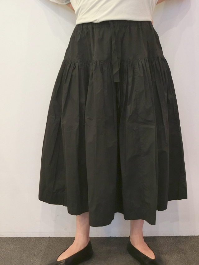 CASEY CASEY:コットンギャザースカート