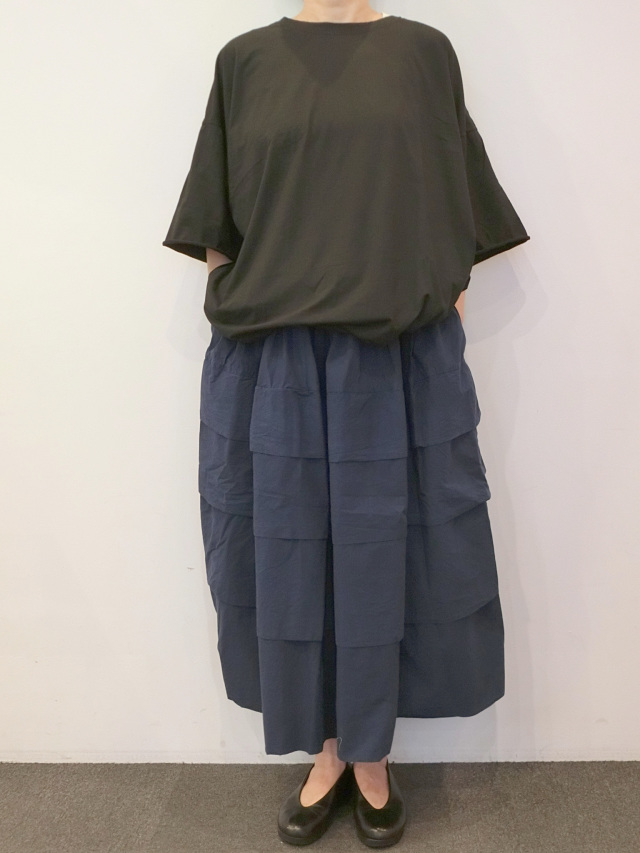 CASEY CASEY:コットンスライススカート