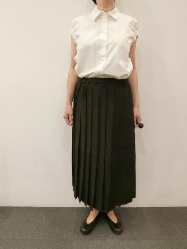 SARA LANZI:プリーツスカート