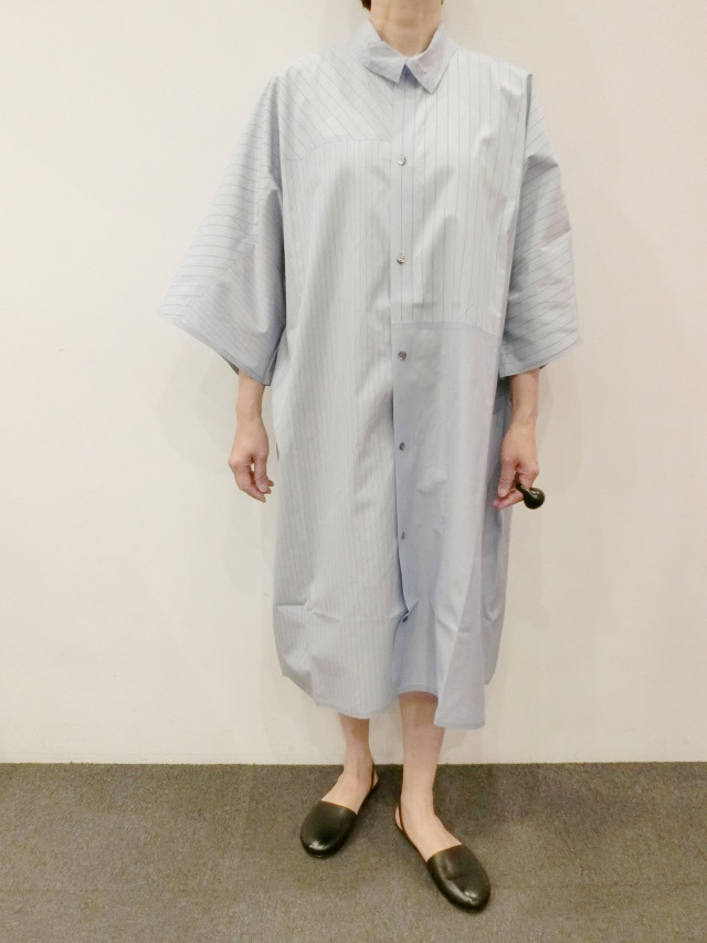 BARBARA ALAN:レギュラーロングシャツ