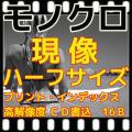 ハーフ モノクロフィルム現像(B&W現像)+L版各1枚プリント+Wインデックス+CD書き込み(高解像度16B)