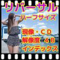 ハーフ リバーサルフィルム現像(ポジフィルム現像)+Wインデックス+CD書込(データ解像度4B)