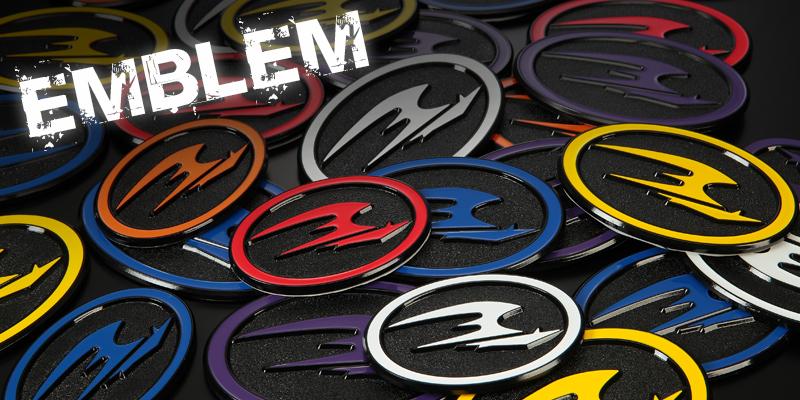 FLEDERMAUS EMBLEM フレーダーマウス エンブレム トヨタ 10系アクア(リア)用 全6色