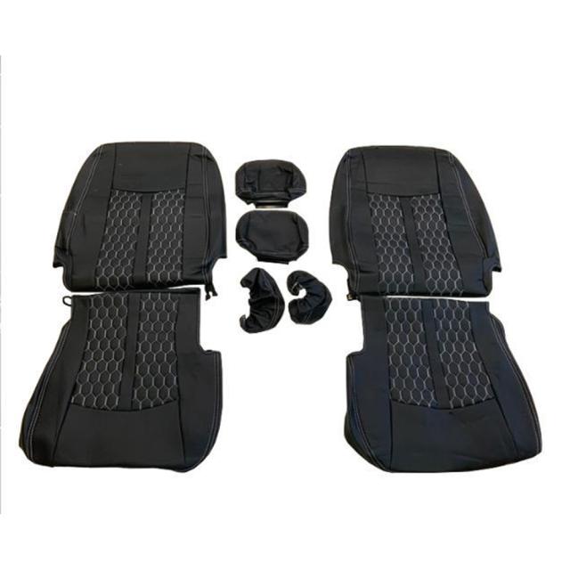 キャラバン GX NV350 ハニカム デザインシートカバー