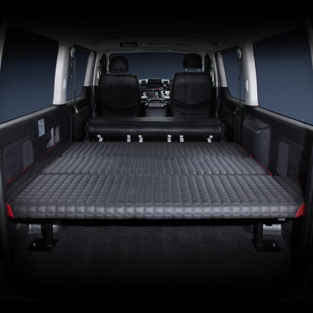 フレーダーマウス ハイエース標準車 ハイエース200系 ※1~6型まで対応 ハイエースバンDX ベッドキット&フレーム フルセット 工具仕分け 作業棚 車内カスタム