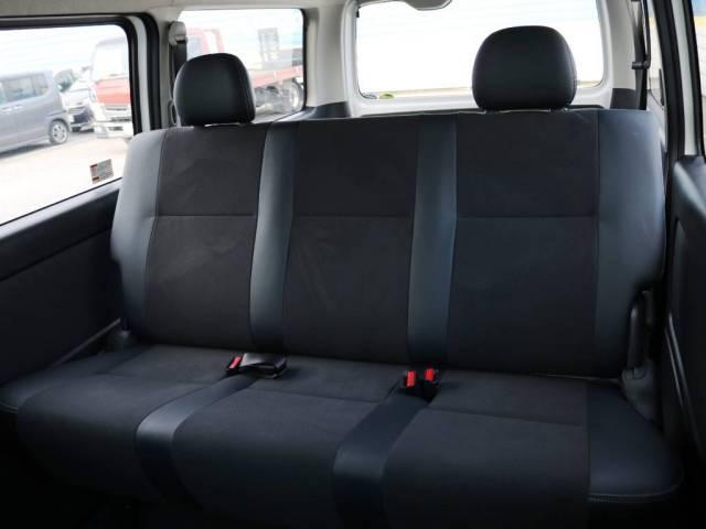 【送料込!】 200系HIACE ハイエース 4型 前期 特別仕様車 ダークプライム 新車外し 純正シート セカンドシート
