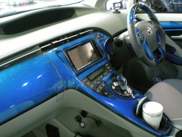 【オリジナル自家塗装用】 インテリアパネル TOYOTA トヨタ ZVW30 30系 PRIUS プリウス 33P 【未塗装品】
