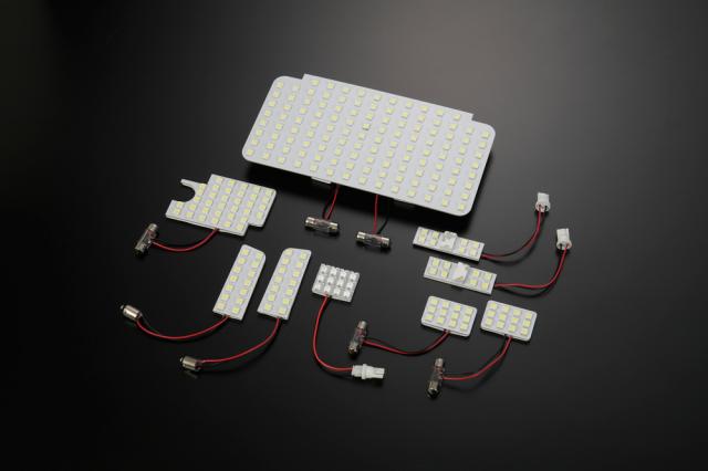 LEDルームランプ 200系 4型 ハイエース用 9Pセット