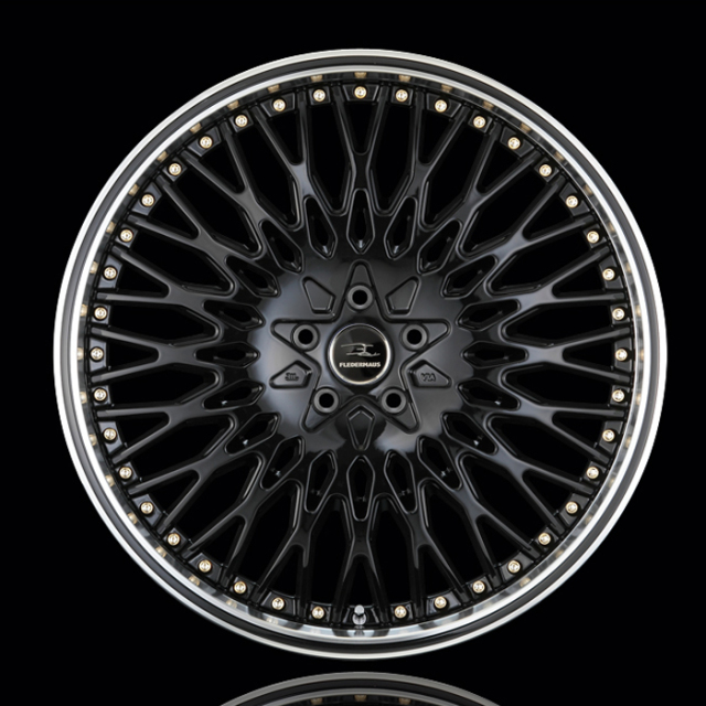 アルミホイール 1本 クエルボ40 CUERVO40 22インチ  カラー:ブラック