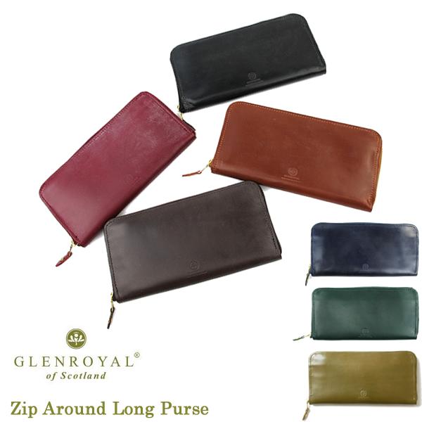GlenRoyal Zip長財布 Zip Around Long Purse 03-6029 グレンロイヤル〔FL〕