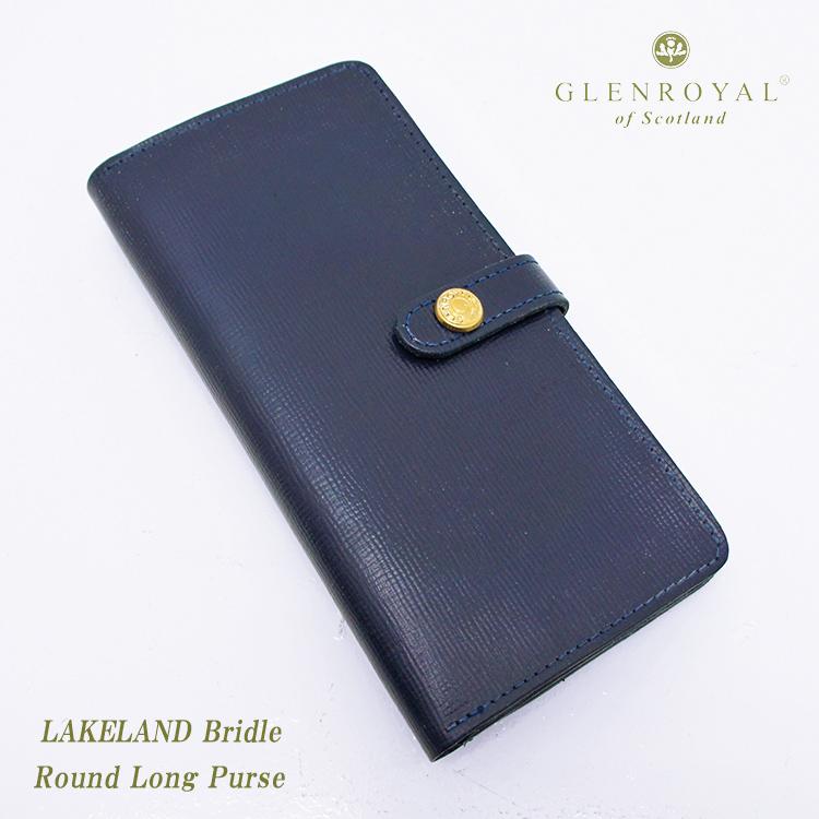 GLENROYAL グレンロイヤル Round Long Purse 03-6178 LAKELAND BRIDLE 長財布 メンズ レディース