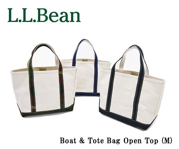エルエルビーン L.L.Bean ビーントート トートバッグ オリジナル・ボート・アンド・トート・バッグ Boat&Tote Bag Open Top M ボートアンドトートバッグ オープン・トップ ミディアム M ポケットなし ジップなし キャンバス レディース メンズ 112636