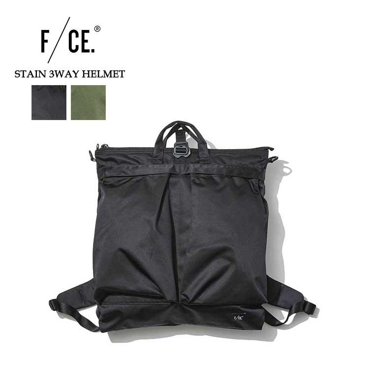 エフシーイー サテン 3WAY ヘルメットバッグ メンズ レディース 新作 ビジネスバッグ トート バックパック リュック ブラック/カーキ F/CE. F2001SE0007