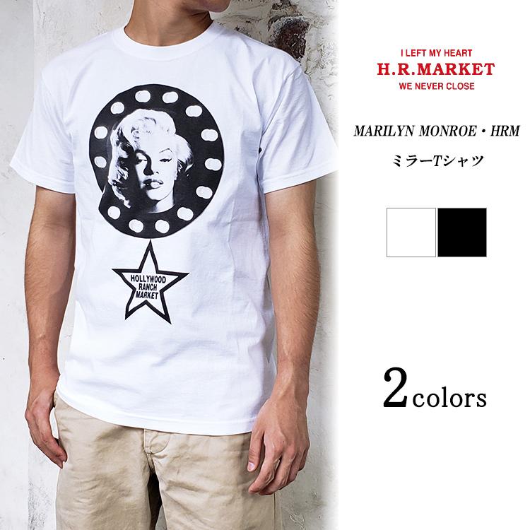 H.R.MARKET ハリウッドランチマーケット MARILYN MONROE マリリンモンロー ミラーTシャツ