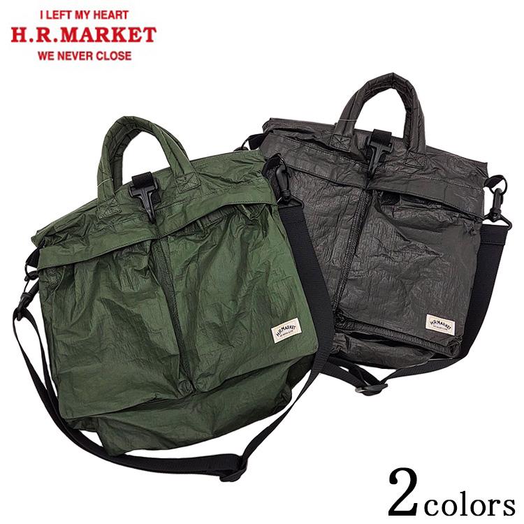 H.R.MARKET ハリウッドランチマーケット ミニ ヘルメットバッグ ミディアム