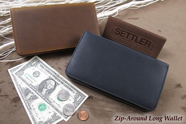 セトラー ジップ式長財布/クラッチパース SETTLER Zip-AroundLongWallet OW-1760