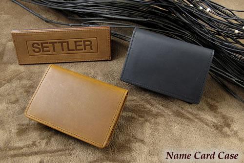 セトラー 名刺入れ SETTLER NamecardCase OW-7412