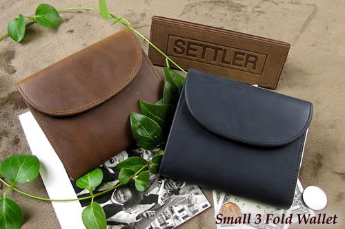セトラー 3つ折り財布 SETTLER Small3FoldWallet OW-1058