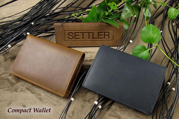 セトラー 2つ折り財布 SETTLER CompactWallet OW-1565