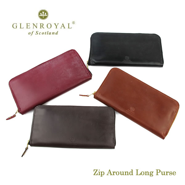 GlenRoyal Zip長財布 Zip Around Long Purse 03-6029 グレンロイヤル〔FL〕