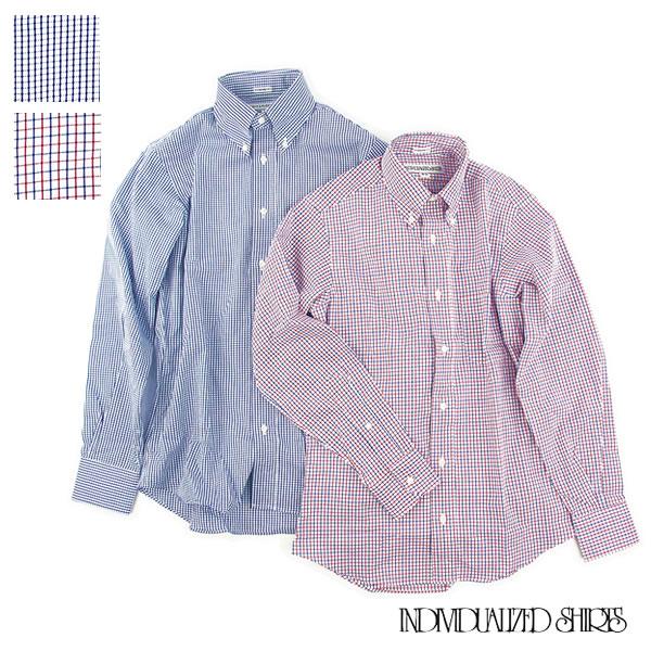 Individualized Shirts GRAPH CHECK STANDARD FIT インディビジュアライズドシャツ スタンダードフィット チェック ブロード ボタンダウン メンズ