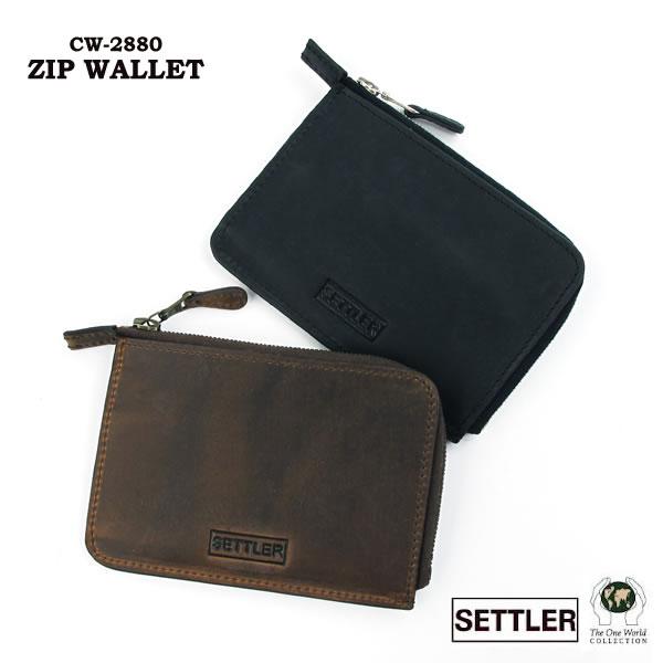 セトラー カードケース 名刺入れ SETTLER Zip Card Case OW-2880〔FL〕