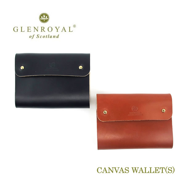Glen Royal  CANVAS WALLET (S) 財布 03-6243〔FL〕