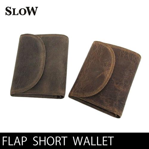 SLOW スロウ フラップ ショート ウォレット 333S66G FLAP SHORT WALLET 革財布 333S66G  スロー〔FL〕