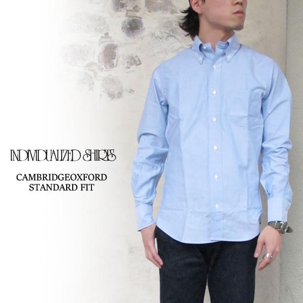 Individualized Shirts Cambridge Oxford STANDARD FIT BLUE シャツ オックスフォード ボタンダウン メンズ 〔FL〕