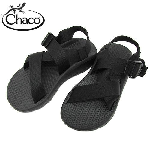 チャコ メンズ サンダル Chaco Mega Z Cloud Men's Sandal メガ Z クラウド BLACK ブラック〔FL〕