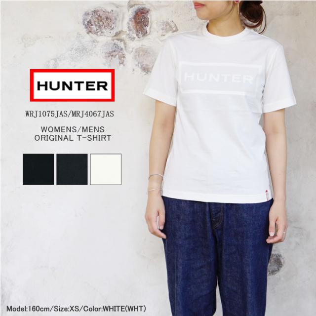 【メール便可】ハンター Tシャツ ロゴT 半袖 コットン 綿 レディース メンズ HUNTER ORIGINAL T-SHIRT WOMENS(WRJ1075JAS)/MENS(MRJ4067JAS)