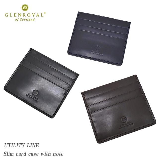 GLENROYAL グレンロイヤル Slim card case with note 03-5935 UTILITY LINE カードケース メンズ