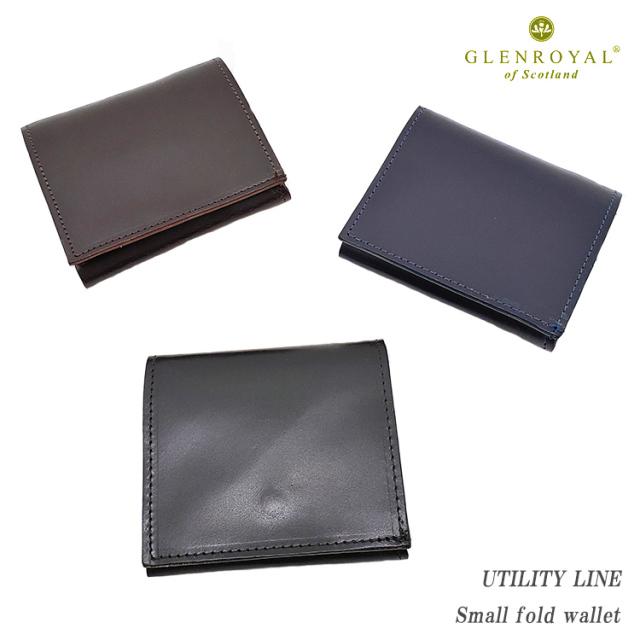 GLENROYAL グレンロイヤル Small fold wallet 03-5923 UTILITY LINE 折り財布 メンズ