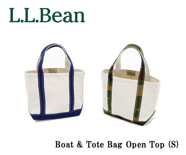 エルエルビーン L.L.Bean ビーントート トートバッグ オリジナル・ボート・アンド・トート・バッグ Boat&Tote Bag Open Top S ボートアンドトートバッグ オープン・トップ スモール ポケットなし ジップなし キャンバス レディース メンズ 112635 289398