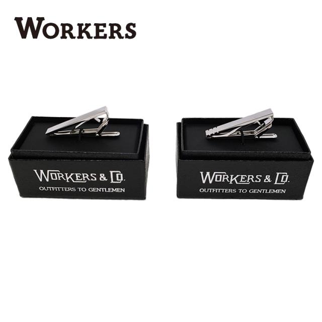 Workers ワーカーズ Tie Clip タイクリップ ネクタイピン 〔FL〕