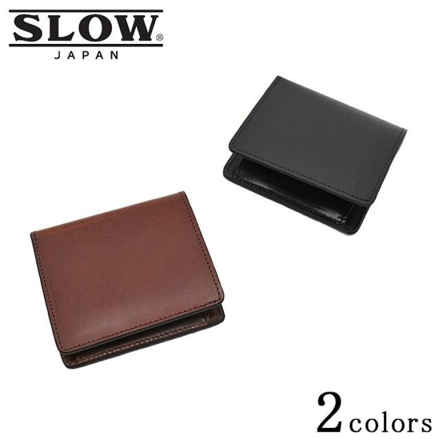 SLOW スロウ herbie mini wallet ハービー ミニ ウォレット SO738I レザー 山陽社製 ブラック ブラウン メンズ