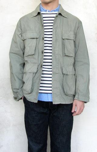 H.R.MARKET JK1692 ミリタリーユーティリティー USEDジャケット