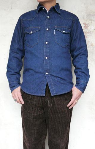 BLUEBLUE ST2014 ライトデニム キルトウエスタンシャツ