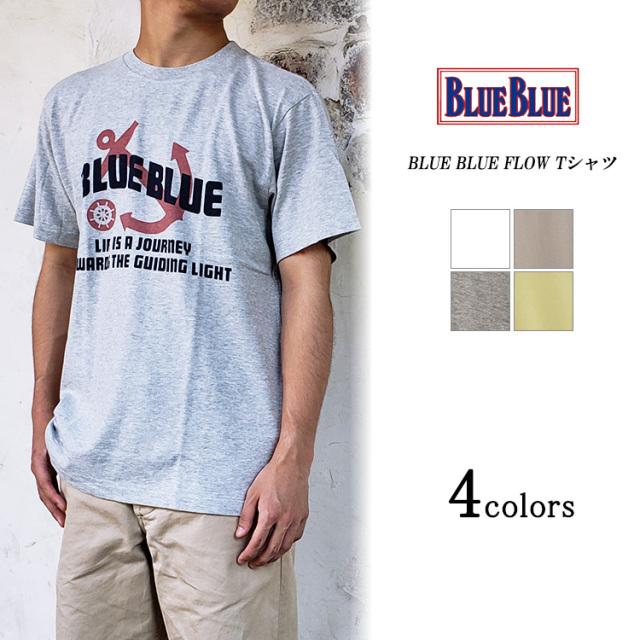 BLUE BLUE ブルーブルー FLOW Tシャツ
