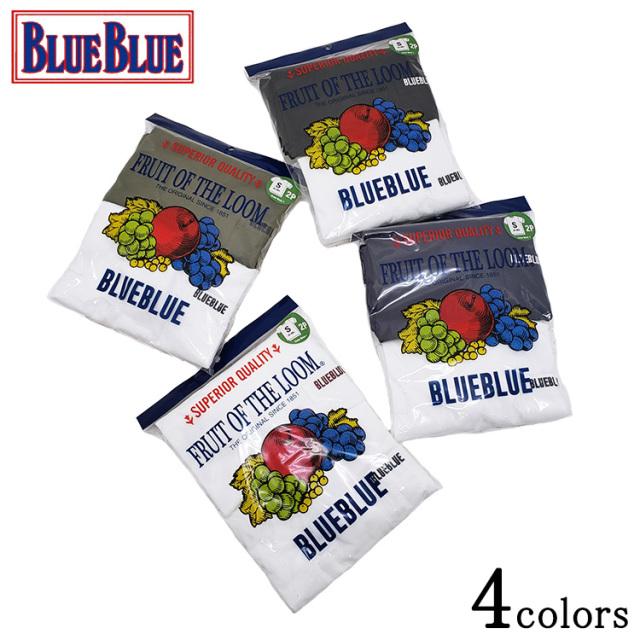 BLUE BLUE ブルーブルー FRUIT OF THE LOOM CN 2PACK POCKET TEE NO.3 クルーネック 2パック ポケットTシャツ