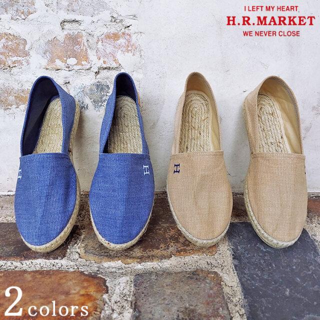 H.R.MARKET ハリウッドランチマーケット LA MAISON DE L ESPADRILLE / HRM H EMB エスパドリーユ