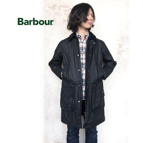 Barbour バブアー ボーダー SL オイルドジャケット メンズ BORDER SL<ブラック>〔FL〕