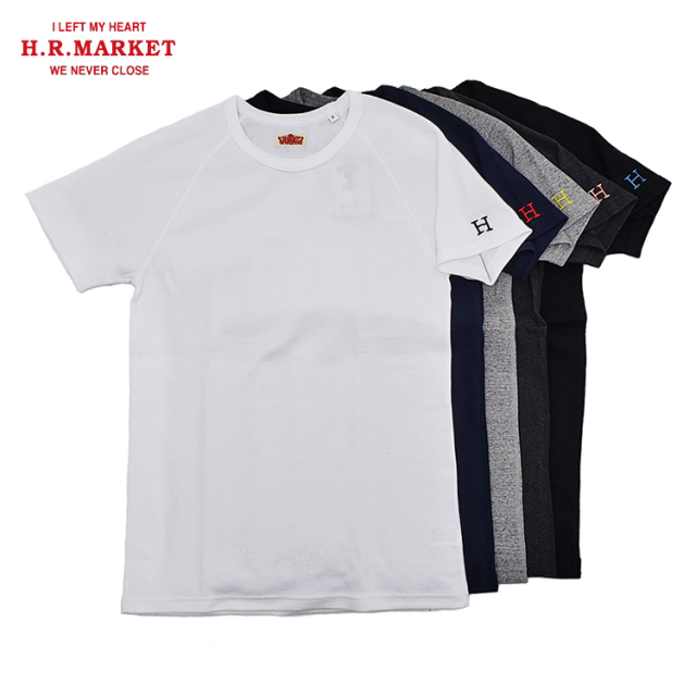 H.R.MARKET ハリウッドランチマーケット ストレッチフライス クルーネック ショートスリーブTシャツ 半袖
